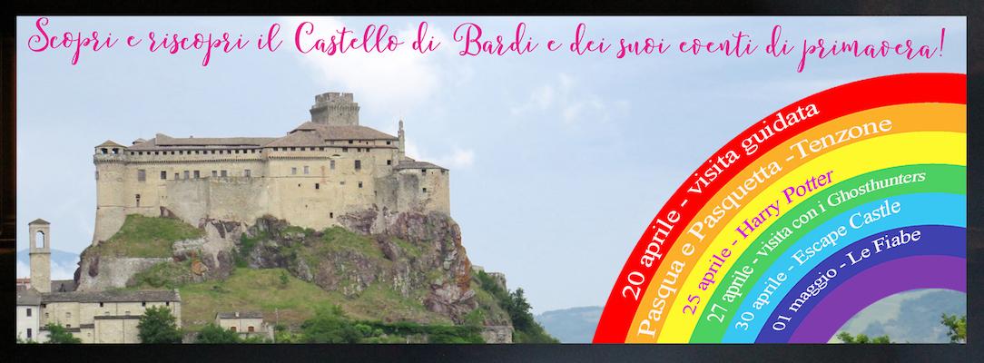 eventi di aprile e maggio nei castelli del Ducato