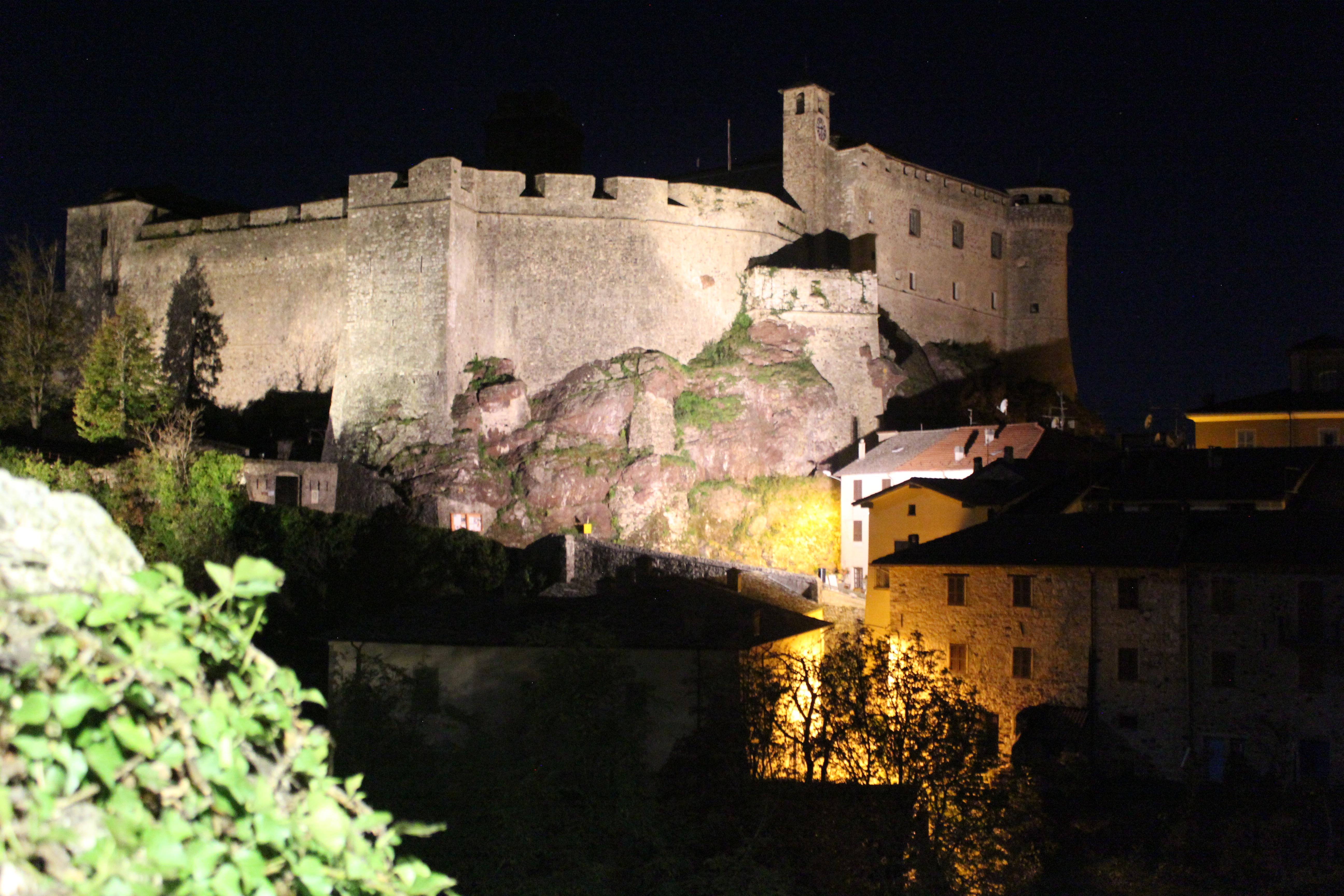 castello di bardi, visita notturna